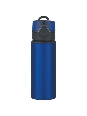25 Oz. Aluminum Sports Bottle With Flip Top Lid
